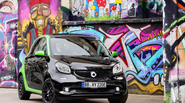 Smart ForFour Electric Drive  static