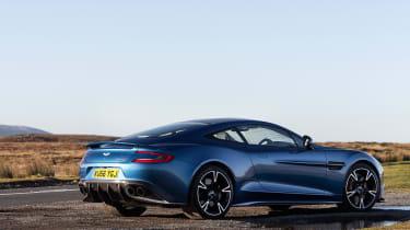 Aston Martin Vanquish S - rear quarter