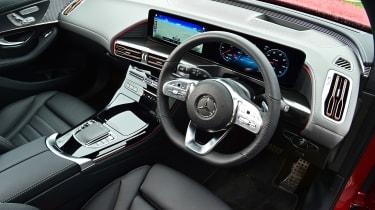 Mercedes EQC 400 - interior