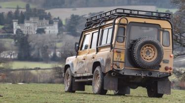 Land Rover Defender Works V8 Trophy - rear