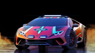 Lamborghini Huracan Sterrato Concept nose