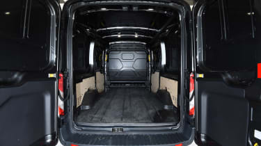 Ford Transit rear loading
