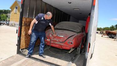 Elvis Presley BMW 507 - delivery