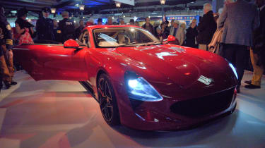 TVR Griffith reveal - front