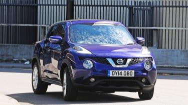 New Nissan Juke 2014 action