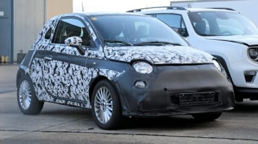 2020 Fiat 500 - spies - front 3/4 static