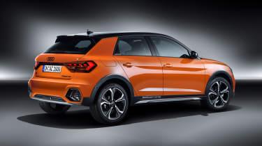 Audi A1 Citycarver - rear studio