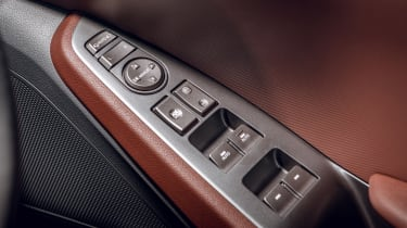 Hyundai Ioniq hybrid controls