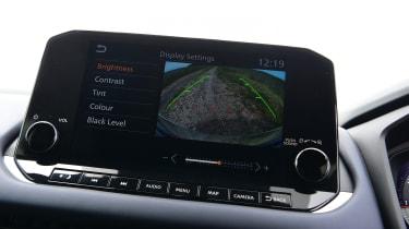 Nissan Qashqai - screen