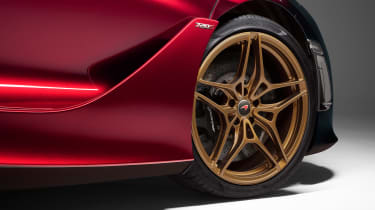 McLaren 720S Velocity wheel detail