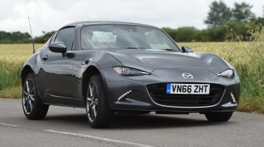 Mazda MX-5 RF long-term test - front