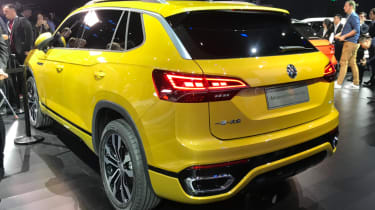 Volkswagen Advanced SUV rear