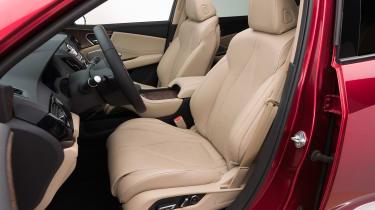 Acura RDX Prototype - front seats