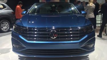 VW Jetta revealed - front