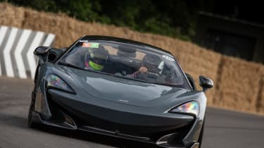 McLaren 600LT - Goodwood hillclimb