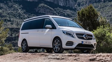 Mercedes V-Class Marco Polo - front static
