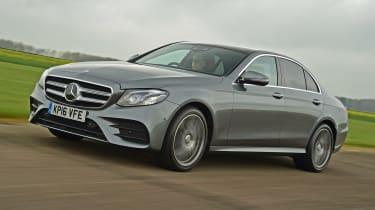 Mercedes E 200d AMG Line - front
