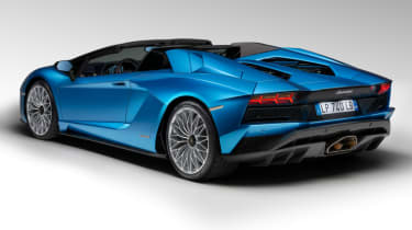 Lamborghini Aventador S Roadster - rear