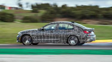 BMW M340i xDrive prototype - side