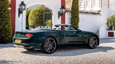 Bentley Continental GT Convertible - rear static
