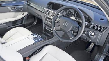 Mercedes E350 CDI Estate interior