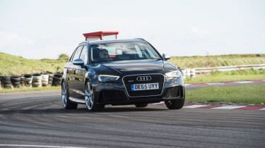 Audi RS3 group - front cornering