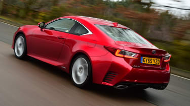 Lexus RC 300h 2016 - rear tracking