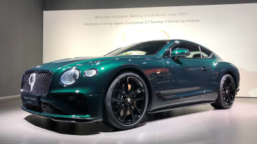 Bentley Continental GT No.9 edition - Geneva front