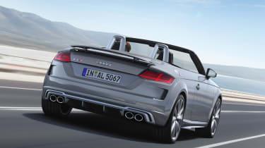 Audi TT S Roadster - rear