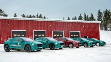 Jaguar I-Pace - side by side