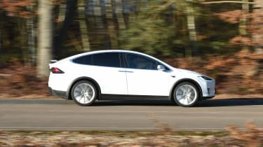 Used Tesla Model X - side