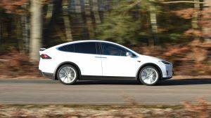 Used Tesla Model X - side