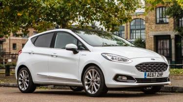 Ford Fiesta Vignale - front quarter