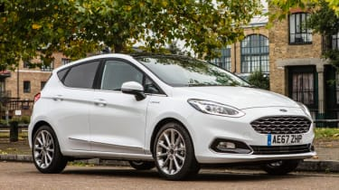 Ford Fiesta Vignale - front quarter