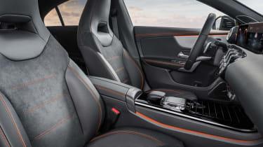 Mercedes CLA - front seats