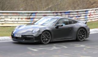Porsche 911 Sport Classic spy - front