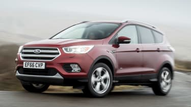 Ford Kuga 2017 - front cornering