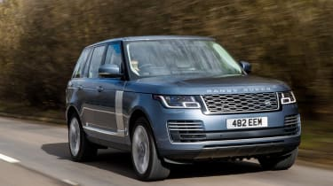 Range Rover 2018 front tracking