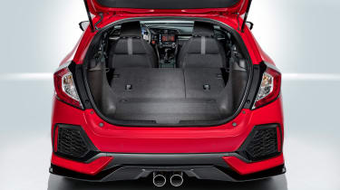 Honda Civic - boot (seats down)