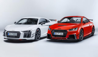 Audi TT RS and Audi R8 performance parts