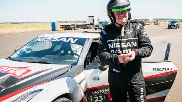 Nissan GT-R 1,390bhp drift car - Steve