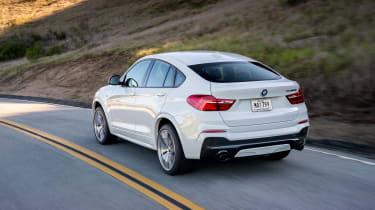 BMW X4 M40i - rear tracking 2