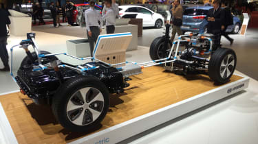 Hyundai Ioniq - Geneva - platform