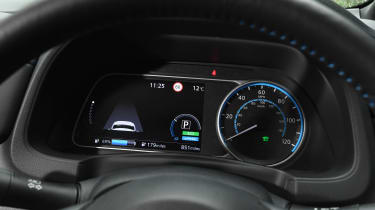 Nissan Leaf dials
