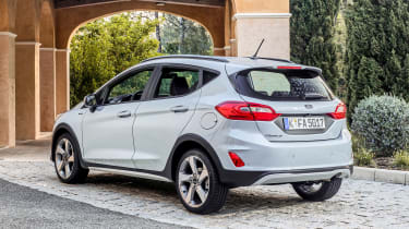 Ford Fiesta Active - rear static