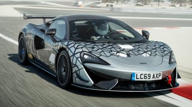 McLaren 620R - front tracking