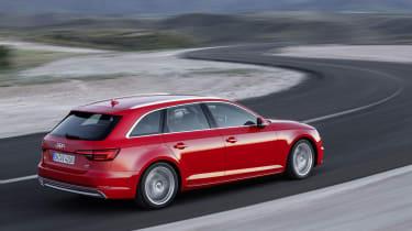 Audi A4 Avant - rear driving