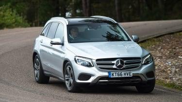 Mercedes GLC - front action