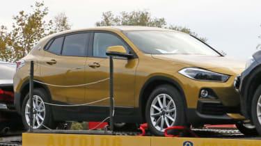BMW X2 spy shot - front