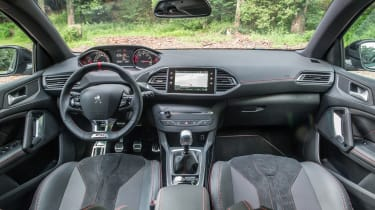 Peugeot 308 GTi review - interior